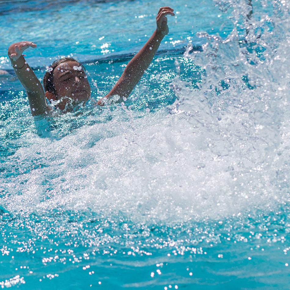 Sicher im Swimming-Pool Spaß haben - SafeWaterpark