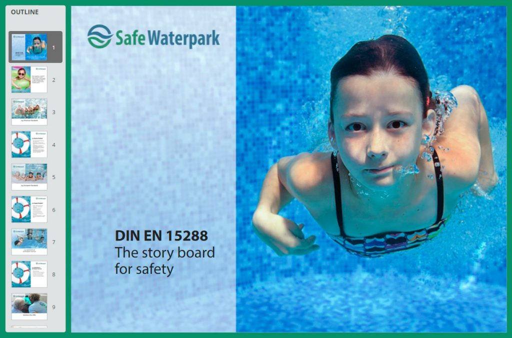 The story board for safety- SafeWaterpark